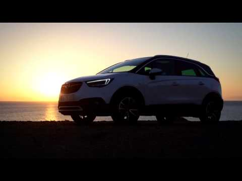 2017 Opel Crossland X trailer