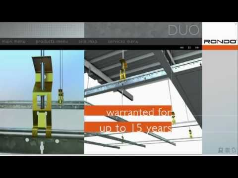 DUO® Suspended Ceiling Grid Systems