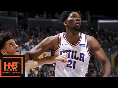 Los Angeles Lakers vs Philadelphia 76ers Full Game Highlights / Week 5 / 2017 NBA Season