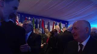 S.M. el Rey asiste a la cena ofrecida por el presidente de Israel, Reuven Rivlin