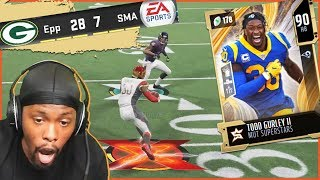 90 OVR Todd Gurley Leads One Of The Greatest 4th Qtr Comebacks Of The Year! | MUT 20