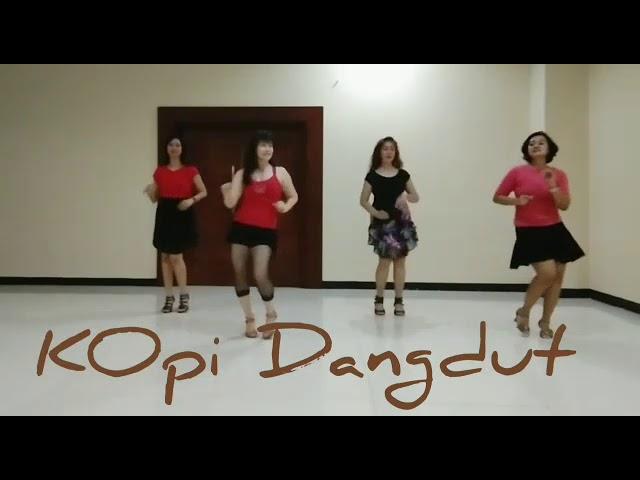kopi Dangdut l Line Dance l Choreographed by Rosamekto