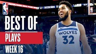 NBA's Best Plays | Week 16