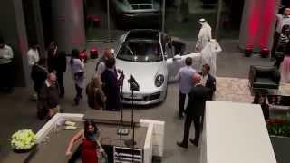 preview picture of video 'New Porsche Centre Dubai inaugurated by Al Nabooda Automobiles'