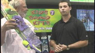 Shakespeare New Kids Fishing Taklking Rod and Reel Combos