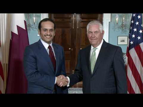 Secretary Tillerson Meets with Qatari Foreign Minister Al Thani