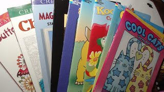 Flip-through Not Friday - Creative Haven, Dover Spark, Dover Coloring Books