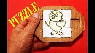KOLAY PUZZLE YAPIMI-SIMPLE PUZZLE FOR KIDS