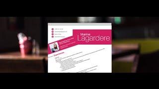 """CV Original """"Spontané"""" - by Mycvfactory"""