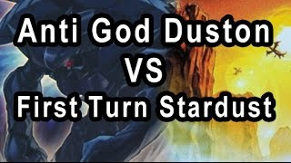 Gambar cover Anti God Duston VS First Turn  Stardust AKA Dragunity