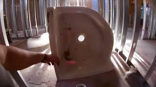 Сантехник в США. Как проходит инспекция сантехники! Ставим mop sink