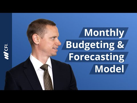 Monthly Budgeting & Forecasting Model - YouTube