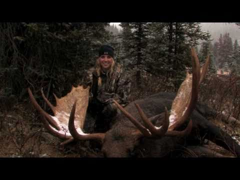 Christina Falls Outfitters Moose Hunt