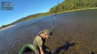 Хорошая рыбалка на реке томь