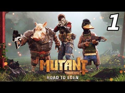 MUTANT YEAR ZERO: Road to Eden - Part 1 (Mutant Year Zero Gameplay Playthrough)