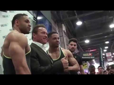 Hodgetwins Meet Arnold Schwarzenegger