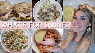 WHAT'S FOR DINNER? EASY FAMILY MEAL IDEAS 2019 | Lauren Midgley