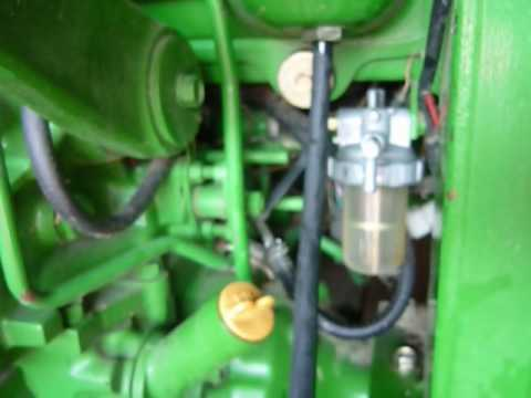Purging Water From Fuel System On A Ls Xr4040 Tractor