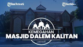 Jaburan: Masjid Dalem Kalitan Warisan Pak Harto, Kombinasi Desain Jawa dan Timur Tengah