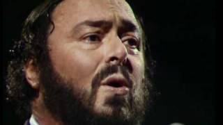 Pavarotti au Concerthalle de Münich en 1998 - nessun dorma