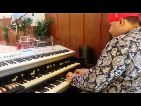 Twinkie Clark Tribute Mikel on Organ