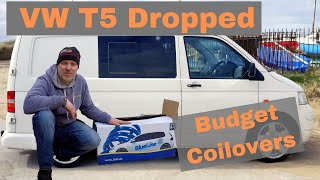 JOM Coilover Fitting, and review on my VW T5 lowered van