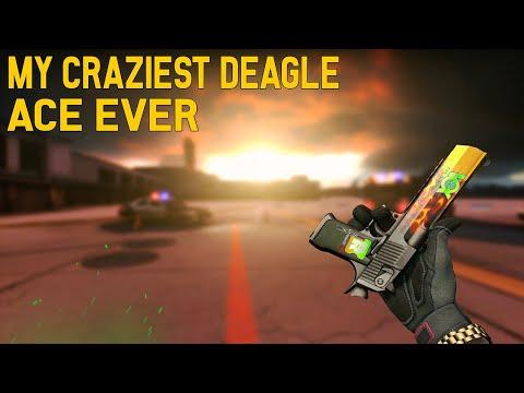 MY CRAZIEST DEAGLE ACE EVER ! INSANE ONE TAPS