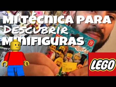 LEGO /// Mi técnica para descubrir minifiguras en sus sobres!!! INFALIBLE