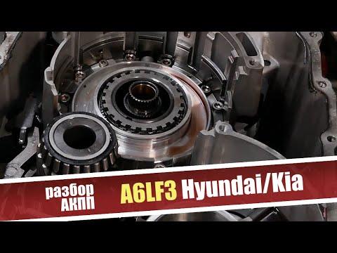 Основные проблемы 6-ступенчатой АКПП A6LF3 Hyundai/Kia. Разбор коробки