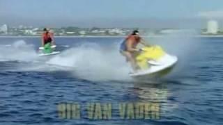 Hulk Hogan and the Macho Man go waterskiing