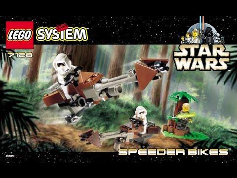 LEGO Instructions STAR WARS SPEEDER BIKES Set 7128 (1999)