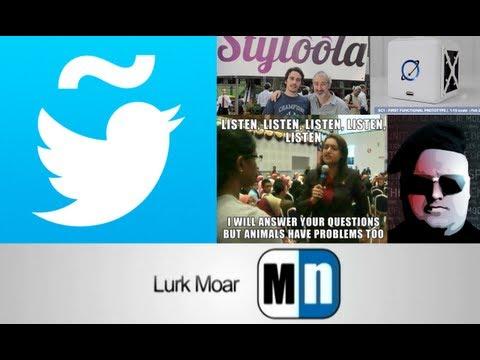 Lurk Moar 18 01 13 - Español en Twitter, Styloola, SpaceCapsule1, Protexta Remix, Lanzan MEGA