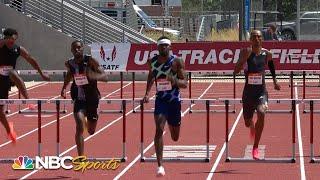 Rai Benjamin wins men's 400m hurdles at 2021 USATF Golden Games in season debut | NBC Sports