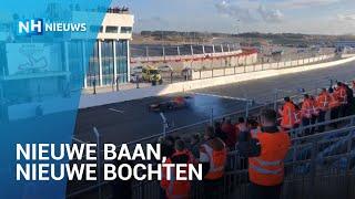 Max Verstappen rijdt als eerste op vernieuwd circuit Zandvoort