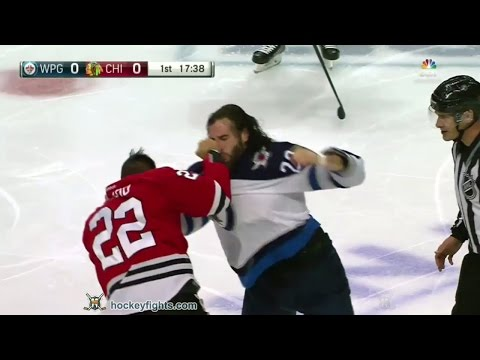 Jordin Tootoo vs. Chris Thorburn