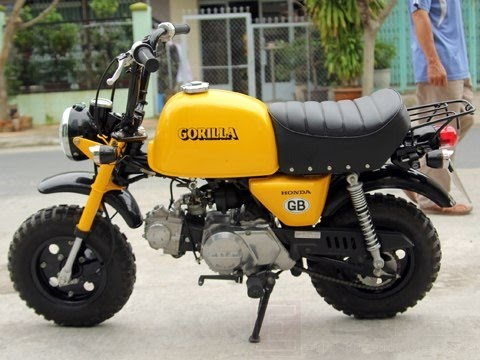 Honda Gorilla 50cc Monkey bike Collection