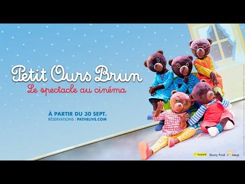 Petit Ours Brun, le spectacle au cinéma - bande-annonce Pathé Live