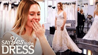 Young Bride Wants a Wedding Dress That Makes Her Feel More Grown Up   Say Yes To The Dress UK