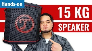 Bluetooth-Speaker mit 112 dB: Teufel Rockster Air im Hands-on