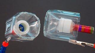 Как сделать колонку из пластиковой бутылки своими руками/A DIY speaker from a plastic bottle