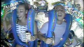 teenager passes out TWICE on slingshot ride