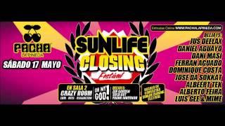 Jus Deelax @ Sunlife Closing Pacha La Pineda 17/05/14