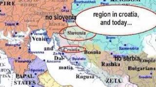 croatia, slovenia and serbia HISTORY