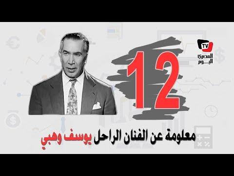 12 معلومة قد لا تعرفها عن عميد المسرح العربي يوسف وهبي