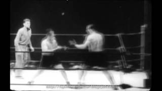 Jack Sharkey -vs- Primo Carnera I 1931 (16mm Transfer, Speed Corrected)