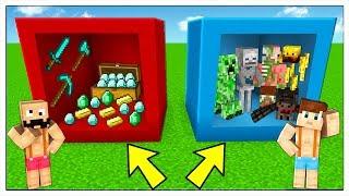 NON ENTRARE NEL CUBO SBAGLIATO! - Minecraft ITA