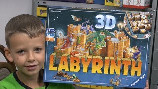 3D Labyrinth (Ravensburger) - ab 7 Jahre - das bessere Das verrückte Labyrinth?