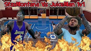 NBA 2K16 MyCOURT 1v1 H.O.R.S.E CHALLENGE VS JUICEMAN! | WIN A FREE XBOX ONE OR PS4!