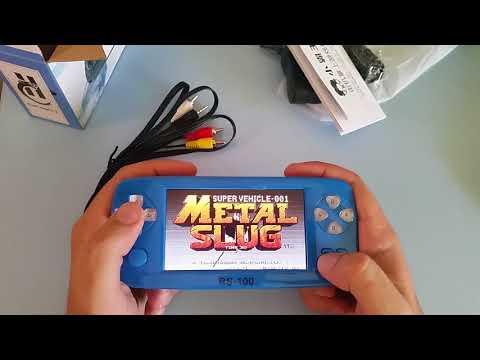 Unboxing MEGA Consola Portátil RS-100