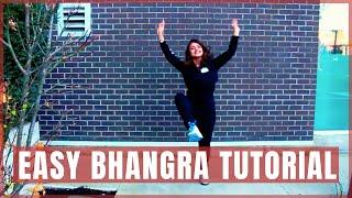 Easy Bhangra Dance Tutorial | Candlelight | Top 3 Beginner Bhangra Steps